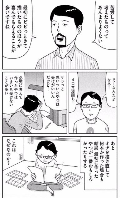 中川いさみ「漫画家再入門1」より