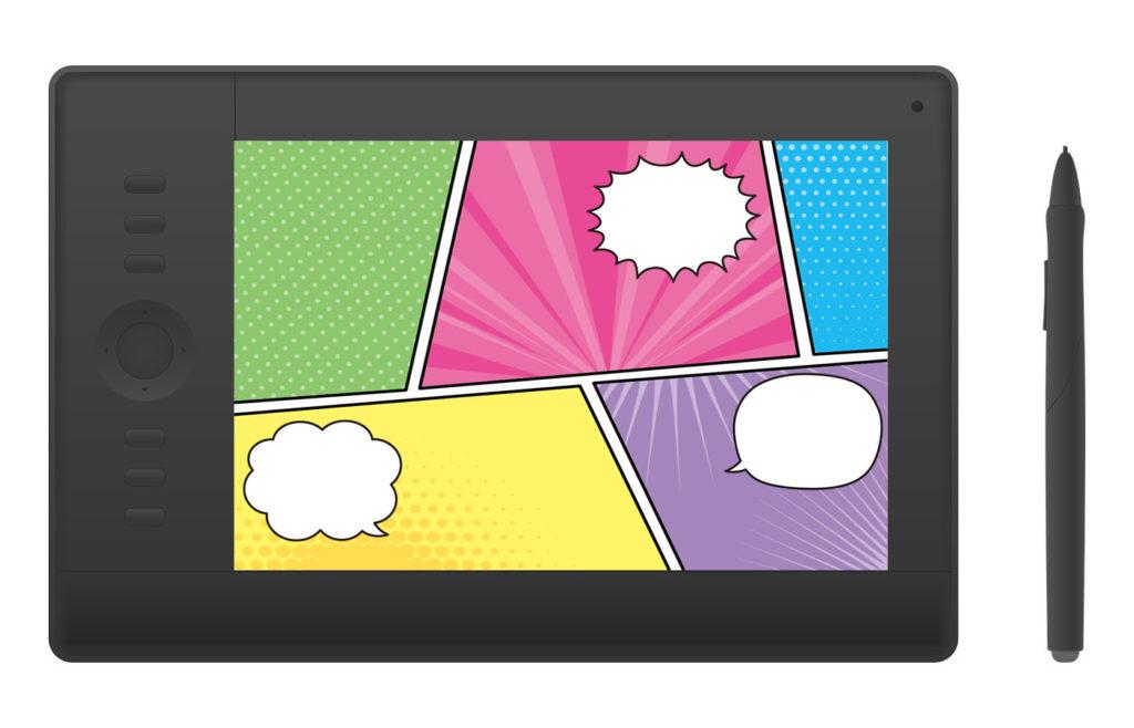 tablet-make-manga