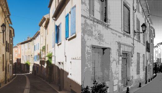 「CLIP STUDIO PAINT EX」(クリスタEX)で写真を白黒マンガの背景に加工する方法