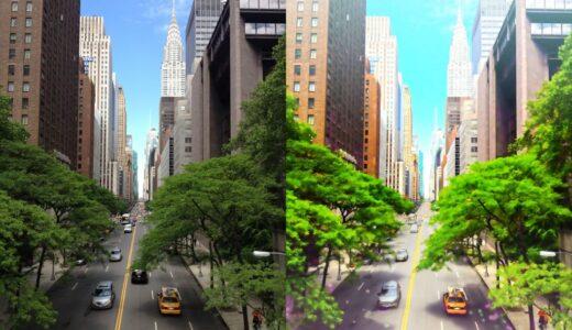 Photoshopで写真を簡単にアニメ・イラスト風カラー背景に加工する方法メイキング